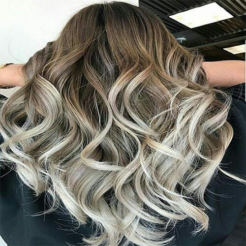 رنگ موی کاپوچینو کاراملی