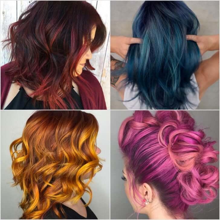 کالکشن رنگ مو جدید بهترین سرخاب شاپ